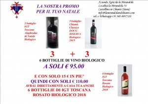 Offerta NATALE 3 ALa + 3 CC Ris